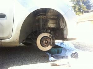 réparation frein voiture révision