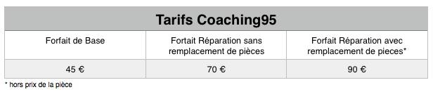 tableau tarif coaching95